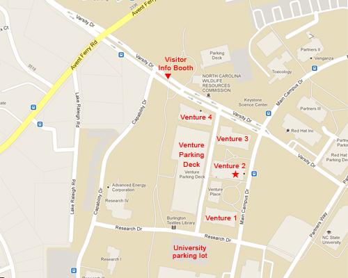 Venture 2 Map